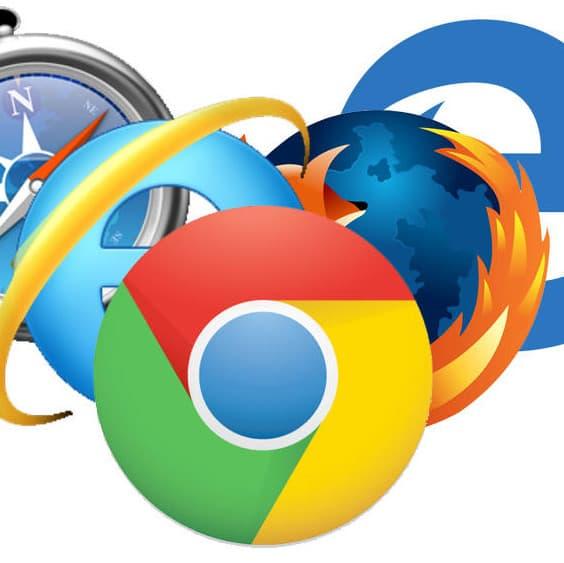 Client léger navigateur Web logos