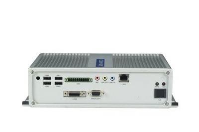 ARK-3360F-N4A1E PC industriel fanless, Atom N450,VGA+3GLAN+6COM+6USB+mPCIe+miniPCI