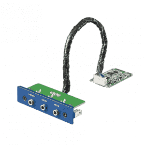 Module iDoor de communication et d'acquisition de données, 3-Port Audio Stereo, mPCIe, 3.5mm Jack