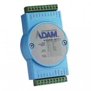ADAM-4017+-CE Module ADAM 8 entrées analogiques paramétrables voie par voie compatible Modbus