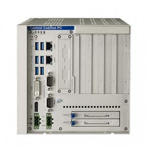 PC industriel fanless à processeur i7-6822EQ, 1.9GHz, 8GB RAM, 2xPCIex8, 2xPCI