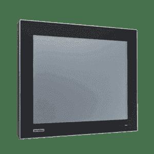 """Ecran tactile industriel 15"""" résistif avec VGA et DP température étendue"""