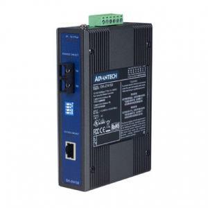Switch industriel, Ethernet to SM fiber media converter (Wide Temp)
