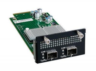 Carte Mezzanine réseau, 2-ports SFP+ 10GE NMC card w/ present pin latch
