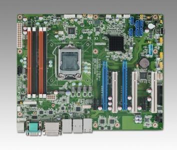 ASMB-784G4-00A1E Carte mère industrielle pour serveur, LGA 1150 ATX Server Board GbEx4