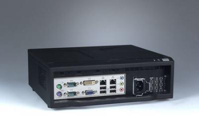 ARK-6620-00XBE Châssis compact pour carte mère Mini ITX alimentation 180W 272 x 88 x 232 mm