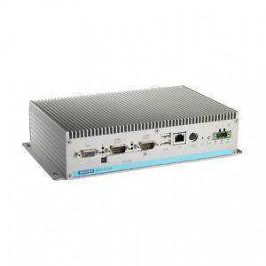 PC industriel fanless à processeur Atom N270, 2G RAM avec 2xEthernet, 3xCOM, mPCIe