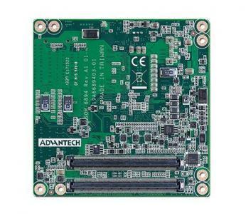 Carte industrielle COM Express Compact pour informatique embarquée, i7-4650U 1.7G 15W 2C COMe Compact non-ECC
