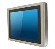 """Panel PC 12"""" Multitouch en coffret INOX IP65 sur les 6 faces, processeur QuadCore Intel J1900"""