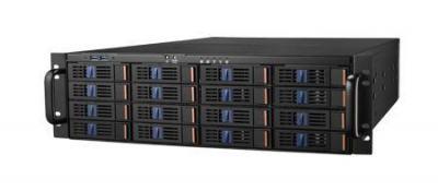 Châssis serveur industriel, HPC-8316 3U-16bay SATA EATX Châssis serveur industriel