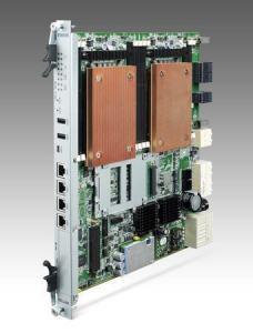 Cartes pour PC industriel CompactPCI, MIC-5332 RJ45 version with E5-2620 CPUs