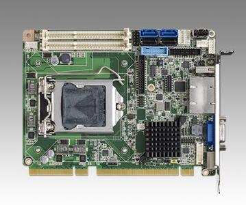 Carte mère industrielle demi-longueur bus PCI/PCIE, PICMG 1.3 H/S SHB, H81, 2GbE, 2 display