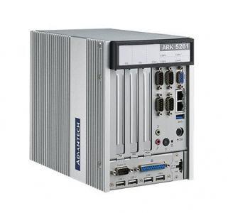 PC industriel fanless, ARK-5261 J1900 Embedded BOX PC System with 4xCOM