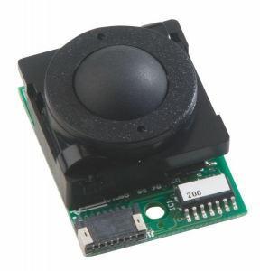 Trackball 16mm en bakélite 16mm de diamètre Trackball couleur noire Etanchéité: IP40