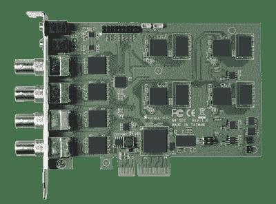 Carte industrielle d'acquisition vidéo, 4ch SDI PCIe SW Video Card