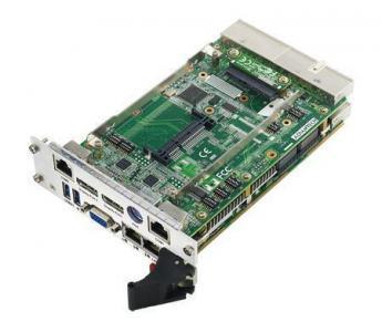 Cartes pour PC industriel CompactPCI, MIC-3328 w/ 3517UE 4G RAM DP dual slot RoHS