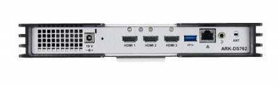 ARK-DS762GQ-U3A1E PC industriel pour affichage dynamique, DS762, i7, 4G RAM, 500G HDD, WES7P w SPro