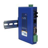Convertisseur ethernet série, 1 Ethernet to 1 RS-232/422/485, DC PWR, DR