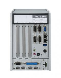 ARK-5261I-J0A1E PC industriel fanless, ARK-5261 J1900 Embedded BOX PC with isolationCOM