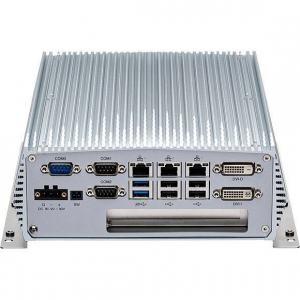 PC Fanless industriel Intel® Core™ i5/i3 4ème génération avec 1 slot PCIeX4