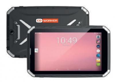 """Tablette durcie 10"""" Android 9 IP68 et lisible au soleil"""