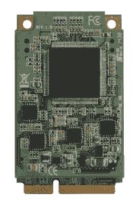 Carte industrielle d'acquisition vidéo, 8CH mPCIe HW compression Video Capture Card