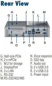 Box fanless pour Panel PC configurable TPC-5000, Intel i3-6100U