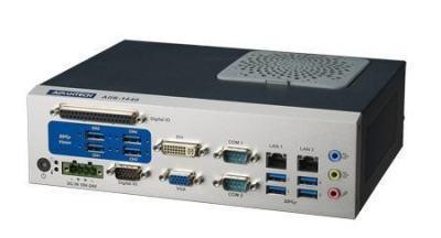 AIIS-1440-00A1E PC industriel pour application de vision, USB3.0 CAM BOX, H61, 2 LAN, 4+4 USB3, 6 COM