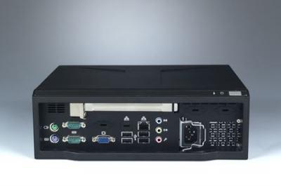 Châssis compact pour carte mère Mini ITX alimentation 180W FLEX