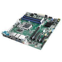 Carte micro ATX 8 émé génération intel-core et Xeon , 4 LAN, 6 COM