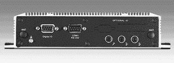 PC fanless industriel, Intel Celeron 2980U 1.6GHz avec HDMI+LAN+GPIOfanless