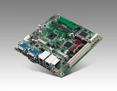Carte mère industrielle, ATOM D2550 MINI ITXw/VGA,2LVDS,2GbE,6COM,ASM1061