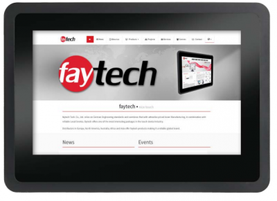 "FT07V40CAPOB Panel PC capacitif 7"" basé sur Android et ARM Cortex V40, 2Go de RAM, 8 Go de flash, IP65, WiFi"