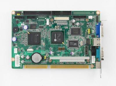 Carte industrielle bus ISA, PCA-6742 slotPC EVA-4300/VGA/TTL/LAN