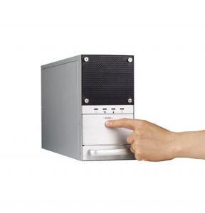 Châssis pour PC industriel, wallmount Châssis pour PC industriel for 5-slot full size SBC w/270