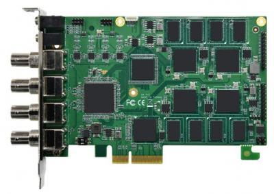 Carte industrielle d'acquisition vidéo, 4ch TVI /CVI/AHD HW Video CARTE