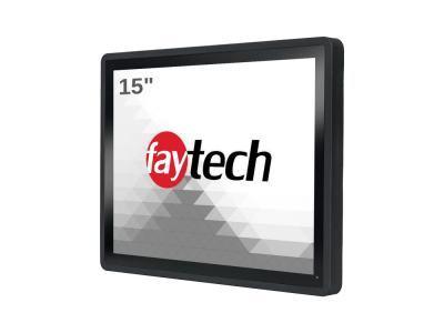 "FT15I5CAPOB Panel PC 15"" fanless avec i5-7300U, 8Go RAM, 128GB SSD, Windows/Linux"