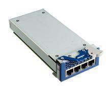 Carte Mezzanine réseau, 4 ports GbE module by RJ45 w/o ALBP Latch