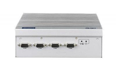 PC industriel fanless pour application transport, ITA-1611 J1900 4G DDR3 2 COM VGA+DVI