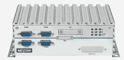 PC Fanless avec 1 LAN PoE et Intel Atom x5-E3940