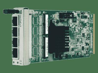Cartes ethernet pour PC industriel CompactPCI, 4-port GbE AMC with SFP conn.