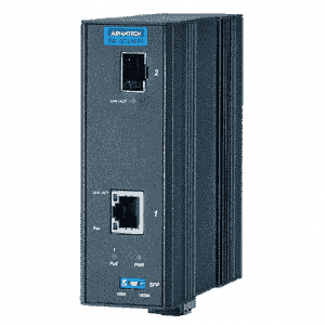 Convertisseur de média SFP fibre optique RJ45 POE 30W