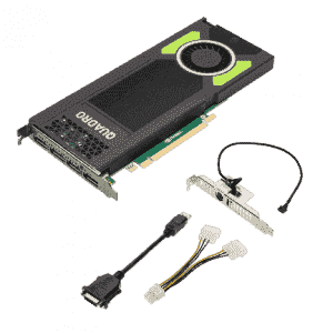 Carte graphique NVIDIA, Quadro M4000 8GB PCI-Ex16 4 ports DP 1.2