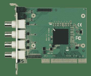 Carte industrielle d'acquisition vidéo, PCI 4CH H.264 HW COMPRESSION VIDEO CARD