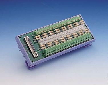 ADAM-3951-BE Bornier ADAM pour carte d'acquisition de données, Screw-Terminal Board with LED indicator