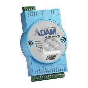 ADAM-6160PN-AE Module ADAM Entrée/Sortie sur bus de terrain, 6-ch Relay PROFINET