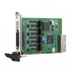 Cartes pour PC industriel CompactPCI, 4-port RS-422/485 UNI CPCI COMM card w/S&I&DB9