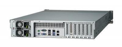 Serveur industriel de stockage, 2U 12-bay Storage Server, support Intel Xeon E3