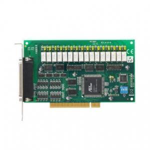 Carte acquisition de données industrielles sur bus PCI, 16ch Relay & 16ch Isolated DI Card