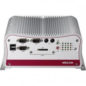 PC fanless industriel avec Intel Atom D2550  et 4 ports Ethernet